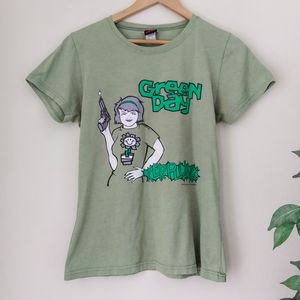 RARE VINTAGE 90'S GREEN DAY KERPLUNK Band Tee